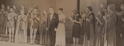 Φωτογραφία από παράσταση της Ηλέκτρας.