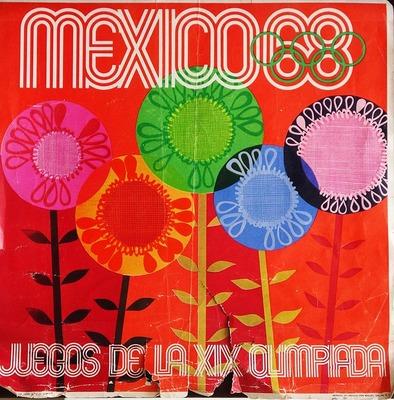Αφίσες από την 19η Ολυμπιάδα του Μεξικού